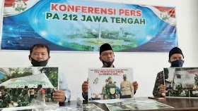 PA 212 Jateng Minta Panglima TNI Copot Pangdam Jaya
