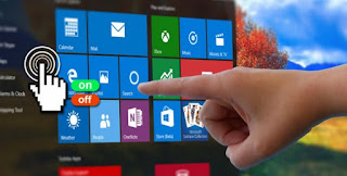 touchscreen con windows 10