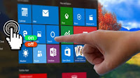 Aggiungere controlli touch-screen per PC Windows 10