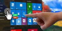 Aggiungere controlli touch-screen per PC Windows 10