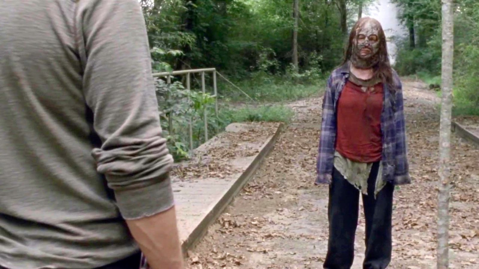 Gamma, en el episodio 10x08 de The Walking Dead