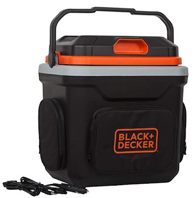 BLACK+DECKER BDC24L Thermoelectric Portable Automotive Car Beverage Cooler & Warmer