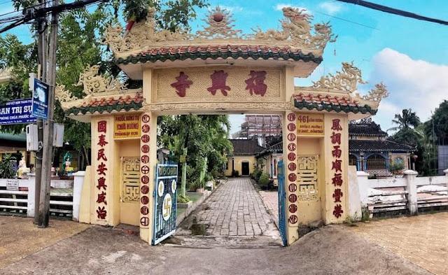 Cổng Chùa Phước Hưng Sa Đéc