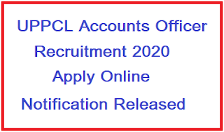 UPPCL Accounts Officer Recruitment 2020 | Apply Online