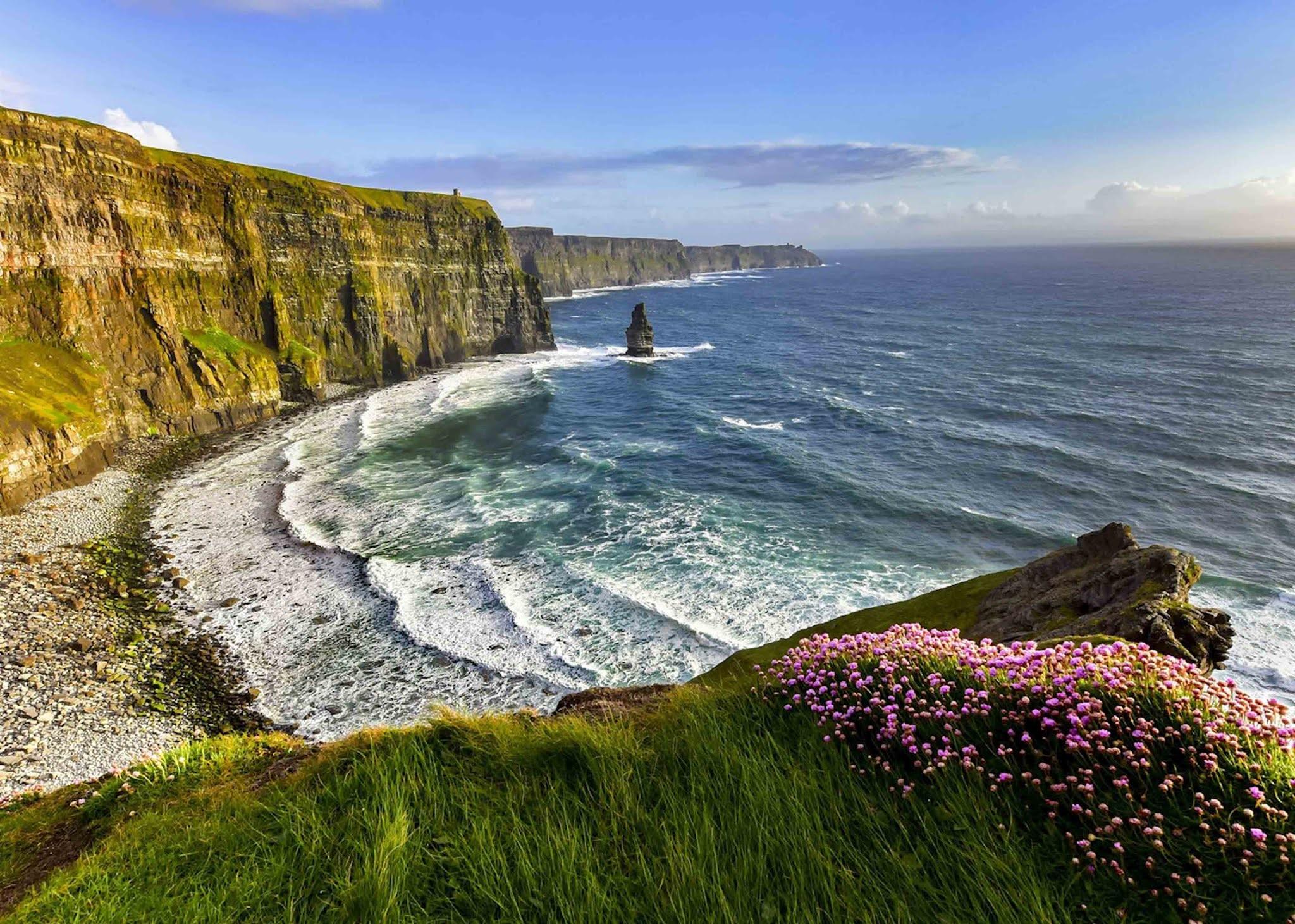 Как образовались утесы Мохер в Ирландии
