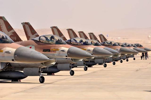 Israeli F16 Canada Top Aces