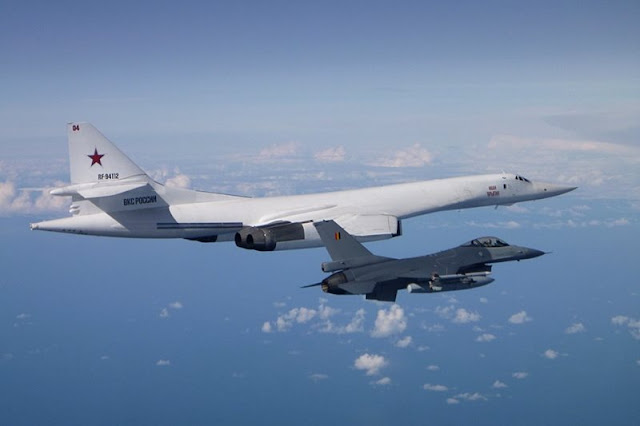 NATO intercepts Russian military aircraft