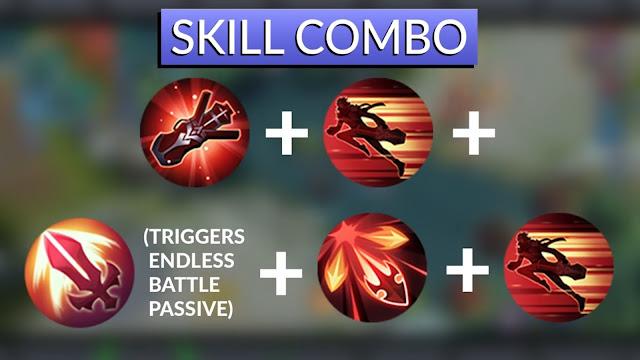 Mobile Legends Granger Skill Combo