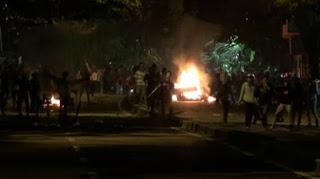 Mencekam! Aksi Tawuran Kembali Pecah di Ciledug, Banyak Bercak Darah di Jalan