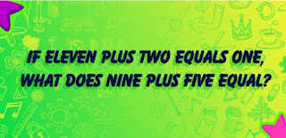 Think you can solve this riddle
