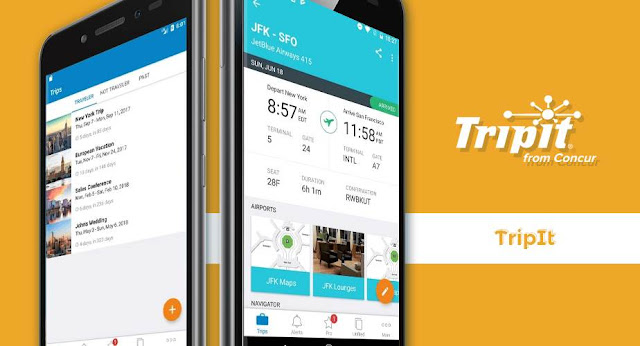 Aplikasi Tripit