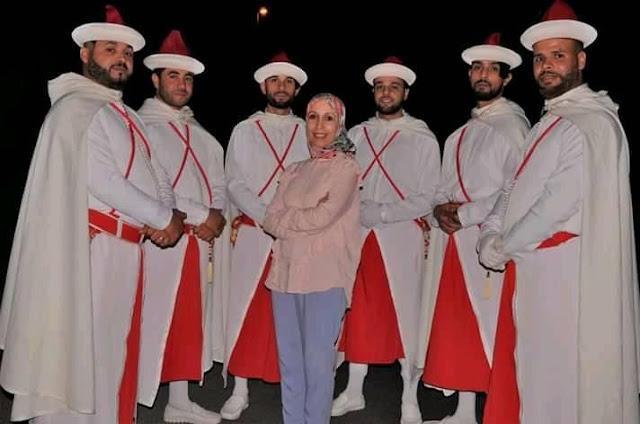 لمعلمة الملكي.......... سيدة نساء فن التنكاف لموسم أعراس 2019