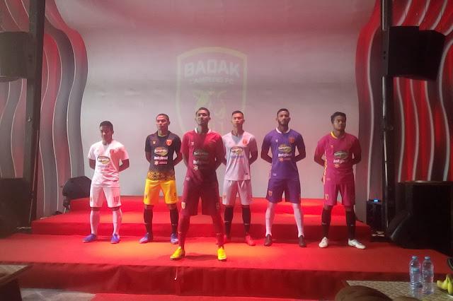 Peluncuran Tim dan Jersey Badak Lampung Football Club 2020