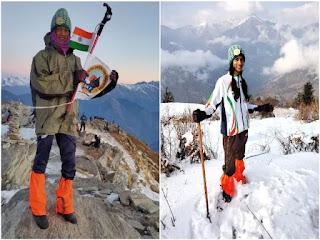 नालंदा की बेटी ने फतेह की केदारकंठ की ऊंची चोटी, माउंट एवरेस्ट पर चढ़ना है सपना