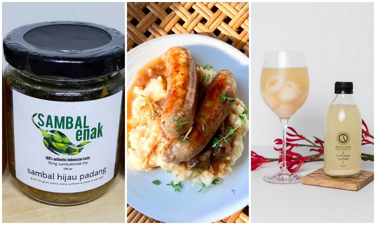 Maple Food Market: Far Eats, Sambal Enak & Amrita Kefir
