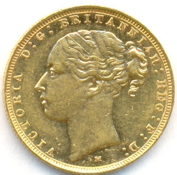 Australian Gold Coins Australian Gold Sovereign 1884