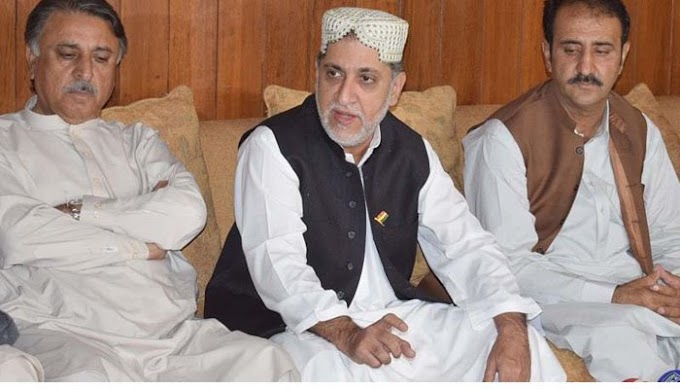 Akhtar Mengal met the PPP delegation meeting which was made to join the opposition alliance