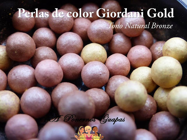 Perlas de Color Giordani Gold Natural Bronze