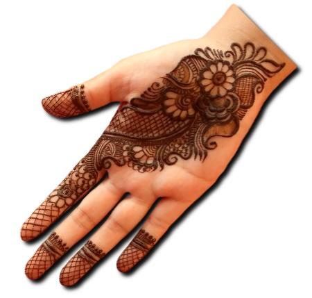 Simple Mehndi Design Traditional
