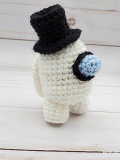 Among Us crochet