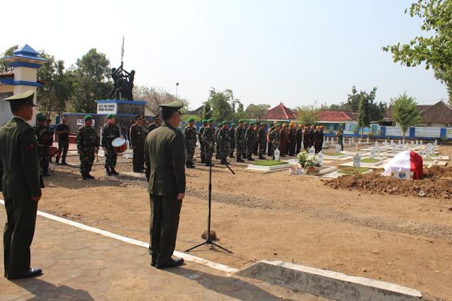 Kodim Karanganyar – Upacara Pemakaman Jenazah Almr. Letkol Inf Purn. Athanasius Sukro Wirhono
