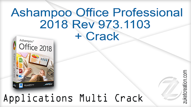 Ashampoo Office Professional 2018 Rev 973.1103 + Crack