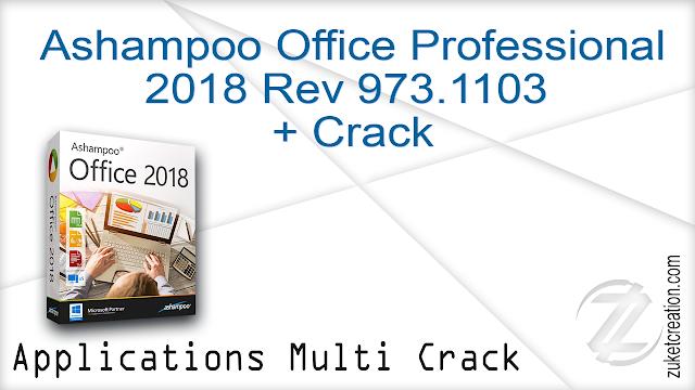 Ashampoo Office Professional 2018 Rev 973.1103 + Crack