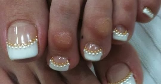 Acrylic Extensions For Length Led Polish Ombre With Gelish Rose Gold For Feats Ans Clear