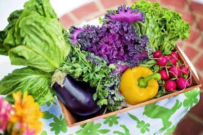 سلطة خضراء صحية