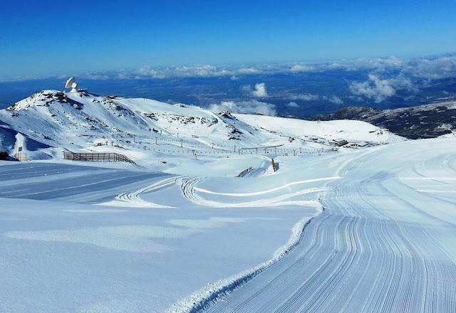 Estação de esqui de Sierra Nevada - Espanha