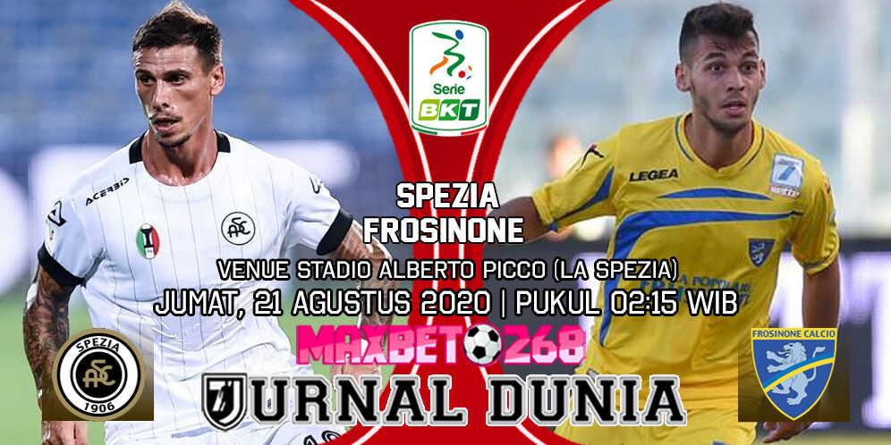 Prediksi Spezia vs Frosinone 21 Agustus 2020 Pukul 02:15 WIB