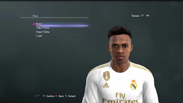 Rodrygo New Face and Hair For PES 2013