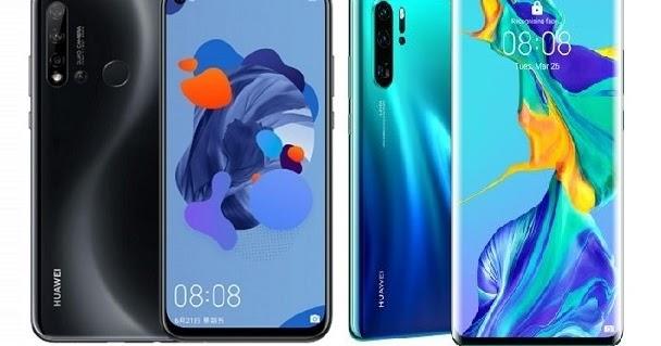 Huawei nova 5i Pro Vs Huawei P30 Pro Specs Comparison