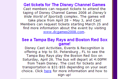 Disney College Program Discounts & Perks | The Disney