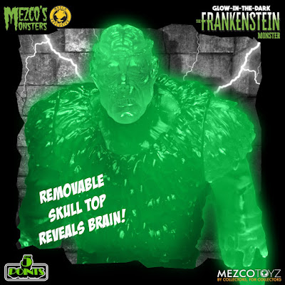 Mezco 5 Points Glow-in-the-Dark The Frankenstein Monster 01