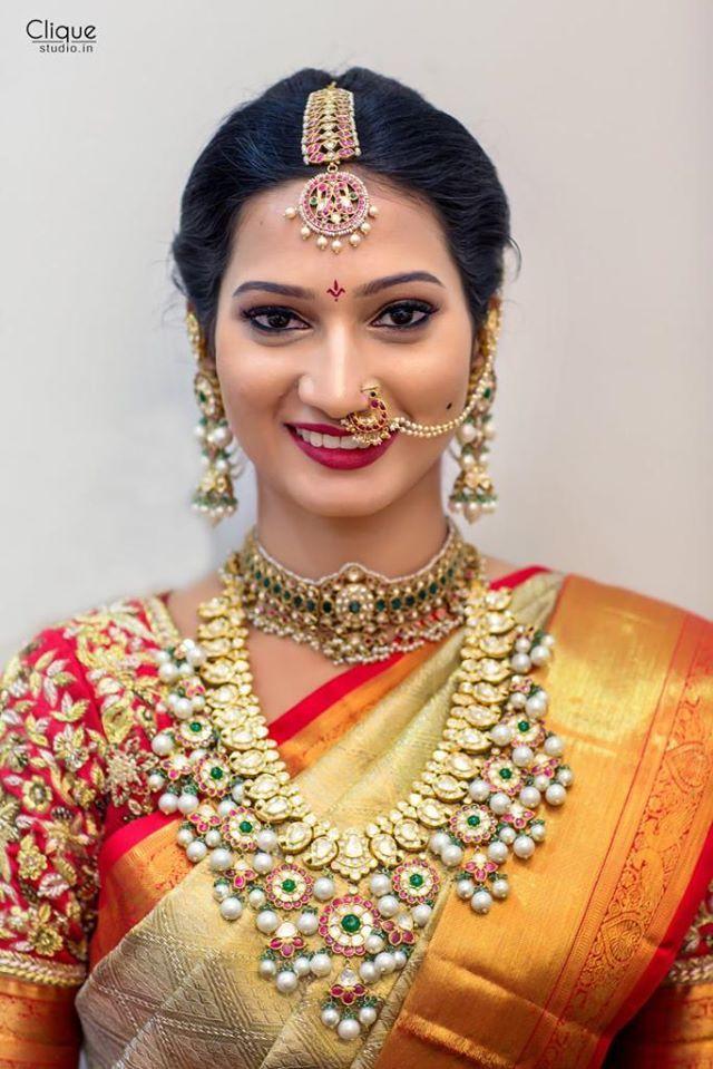 Bride in Bottumala by Hiya Designer Jewels