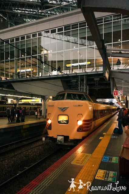 รถไฟ ญี่ปุ่น โอซาก้า