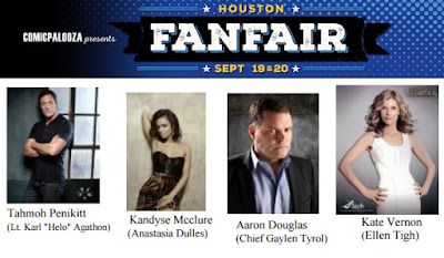 Comicpalooza's Houston FanFair Debuts with a Battlestar Galactica 10th Anniversary Reunion