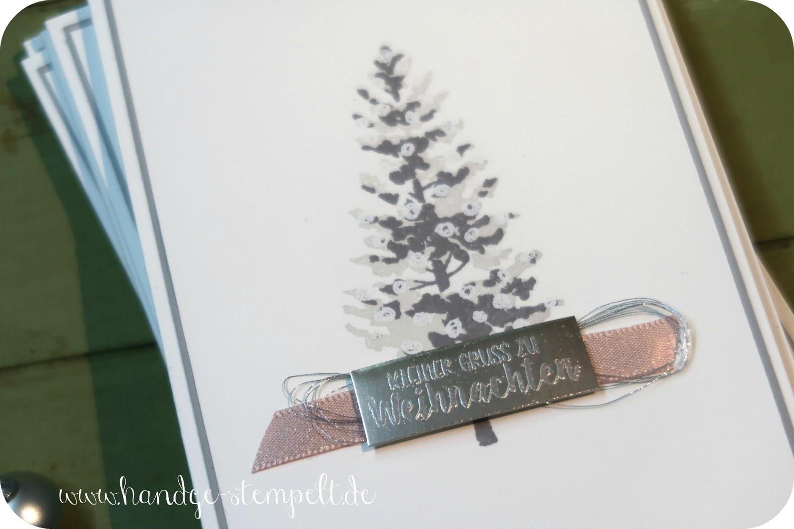 claudinchens kreative seite ein zarter weihnachtsbaum. Black Bedroom Furniture Sets. Home Design Ideas