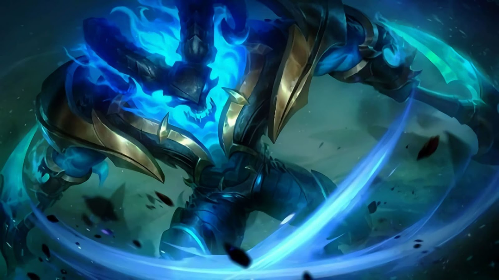 Wallpaper Thamuz Lord of Wraith Skin Mobile Legends HD for PC
