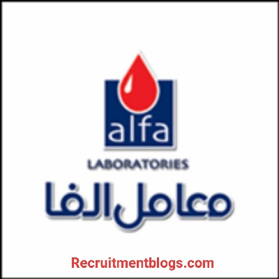 Lab Chemist ( Home Visits ) At Alfa Laboratories