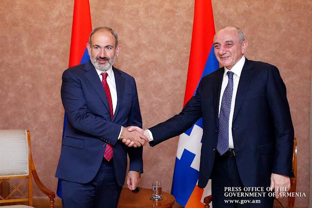 Artsaj y líderes armenios discuten cooperación