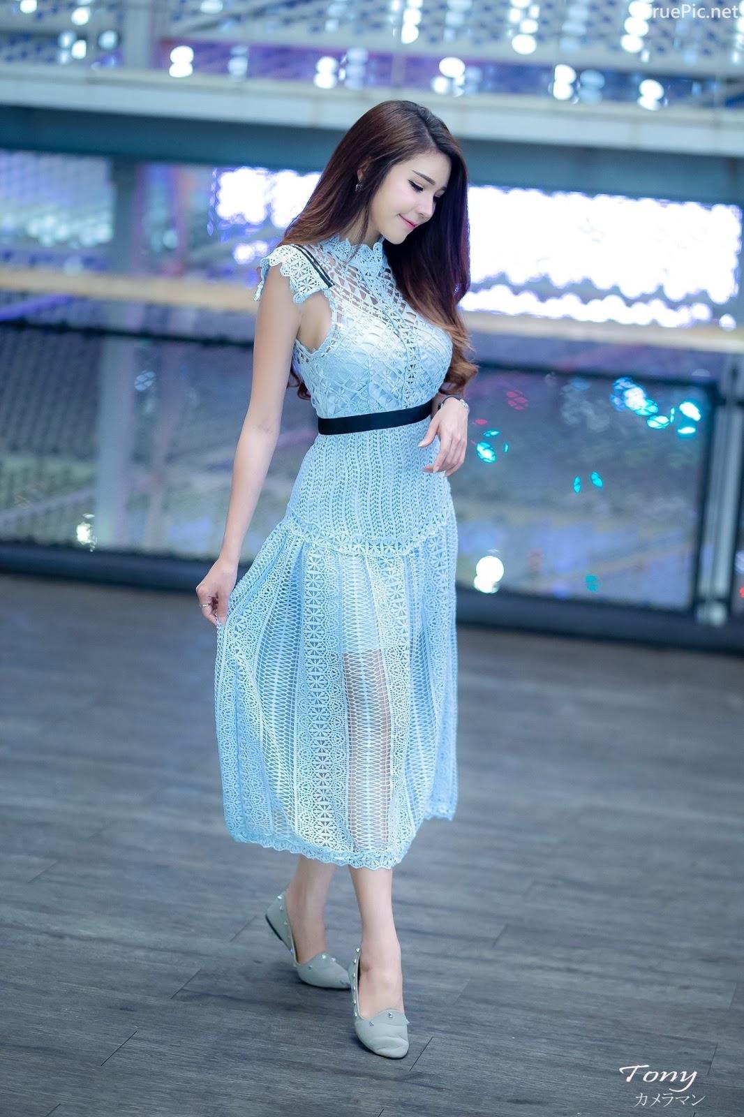 Thailand hot model – Janet Kanokwan Saesim – Sexy vs Cute and Bra vs Long Dress - Picture 5