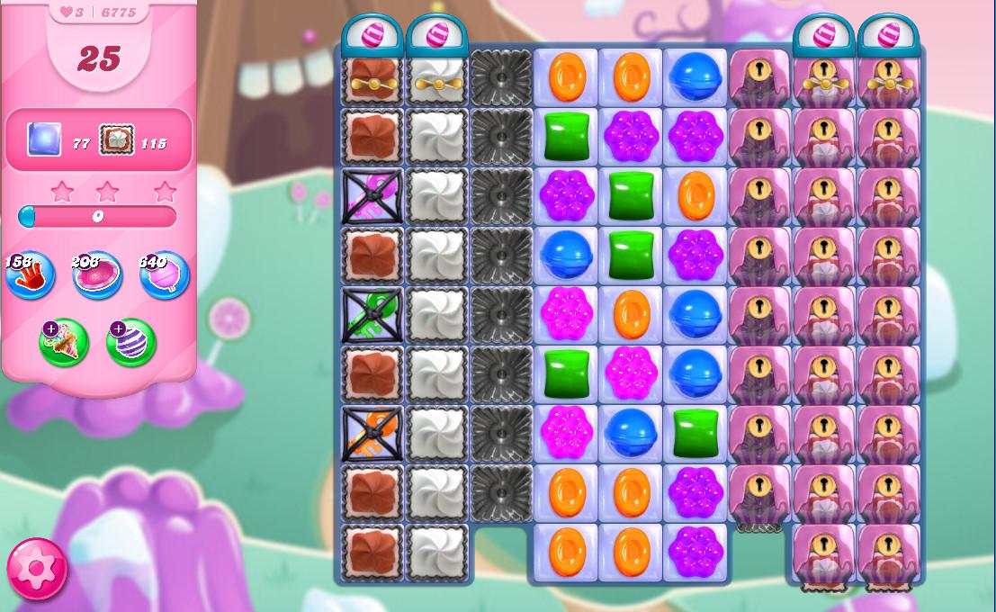 Candy Crush Saga level 6775