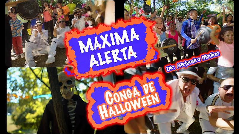Máxima Alerta - ¨Conga de Halloween¨ - Videoclip - Director: Alejandro Medina. Portal Del Vídeo Clip Cubano