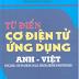 SÁCH SCAN - Từ điển cơ điện tử ứng dụng Anh - Việt (Đỗ Hữu Vinh - Trịnh Hoàng Minh)