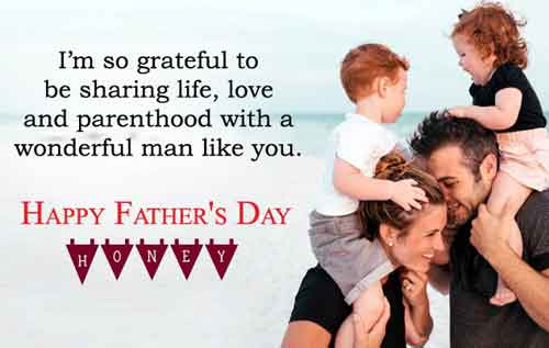 happy-fathers-day-sayings-from-wife picture