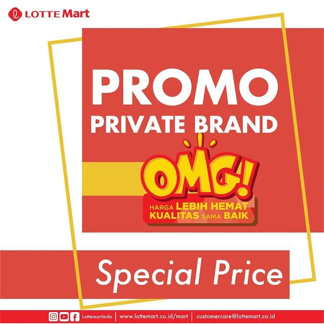 #LotteMart - #Promo Special Price Private Brand (27 Mei 09 Juni 2019)