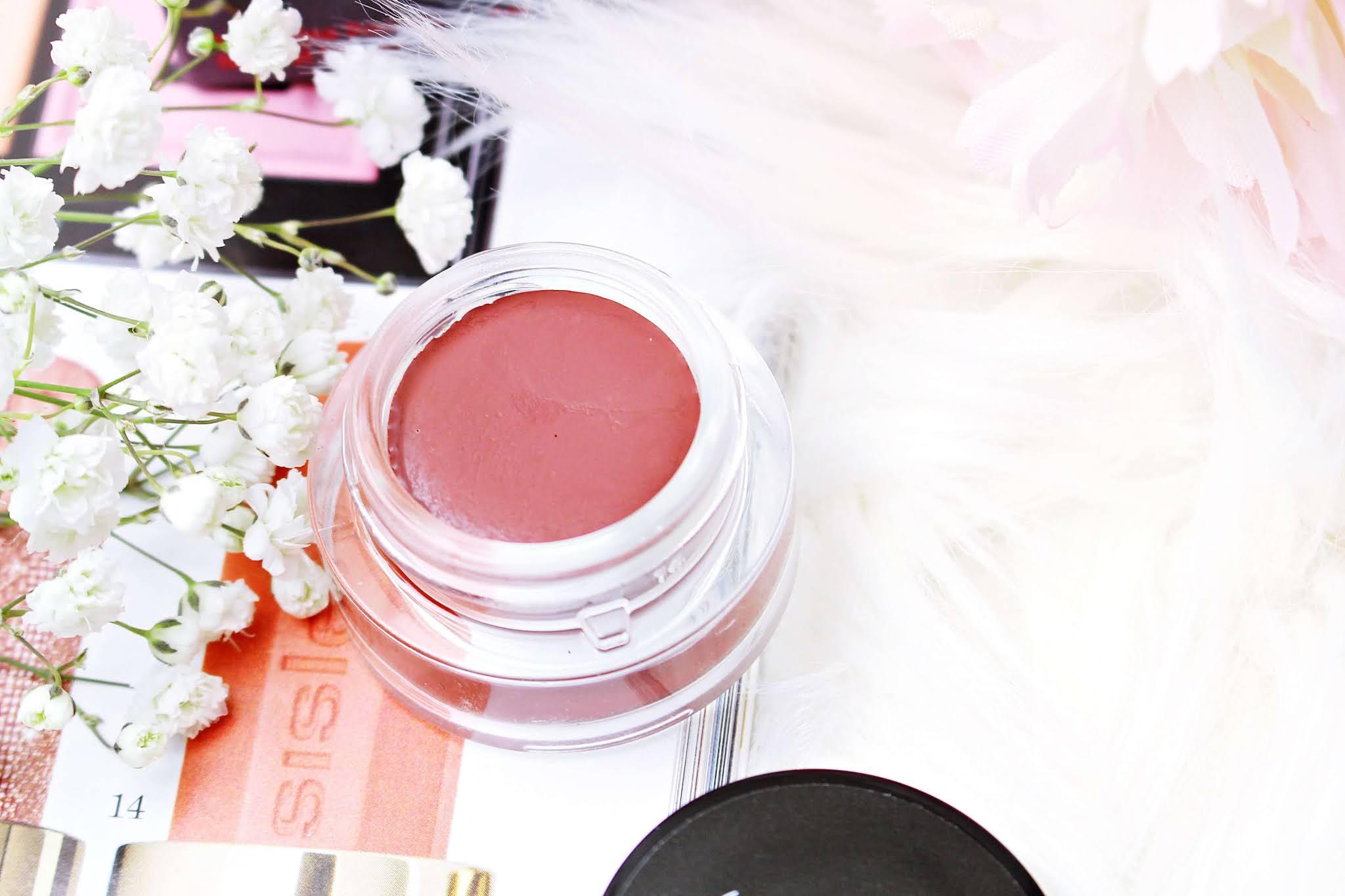 Naturalna pomadka do ust i róż MakeMeBio Make Up!