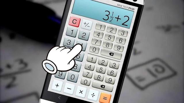 تنزيل حاسبة الكسور الممتازة المجانية Fraction Calculator Plus Free للاندرويد و الايفون
